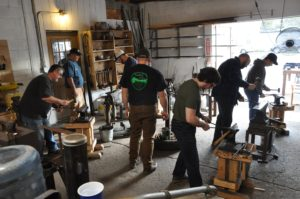 Blacksmithing @ Anvil Academy
